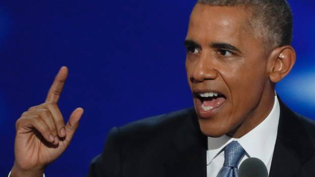 """Barack Obama has declared Donald Trump """"unfit"""" to succeed him as US president."""