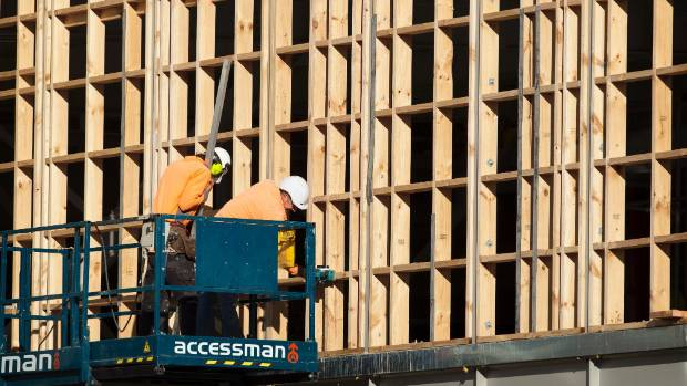 In May, construction work advertisements in Auckland were up almost 40 per cent.