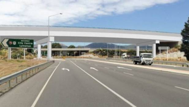 The Wigram Magdala Link was finished ahead of time and under budget.