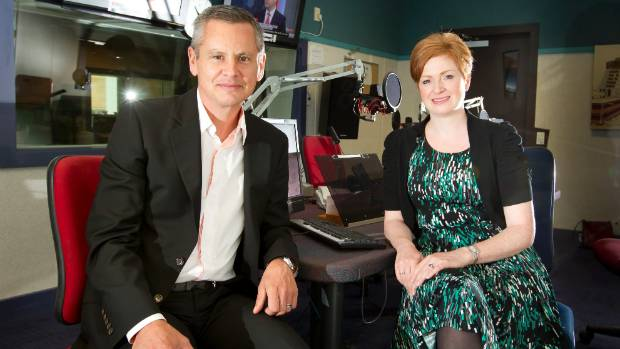 Morning Report hosts Guyon Espiner and Susie Ferguson attract about 386,000 weekly listeners.