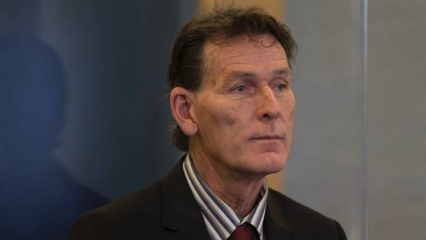 Brian Taylor (pictured) in the dock at the Auckland High Court,  is charged with  failing to protect a vulnerable adult ...