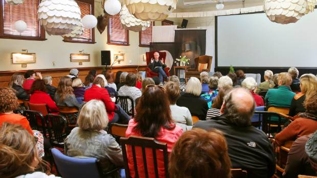 Poet Bill Manhire discusses his experiences in Antarctica at the Blenheim Club.