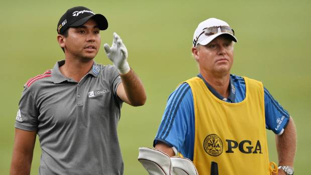 Jason Day and caddie Colin Swatton in happier times.