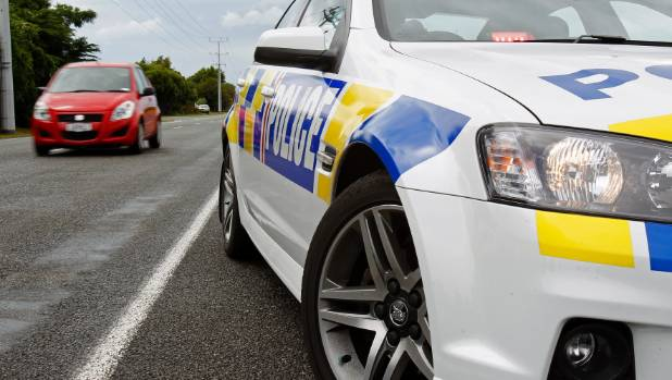 Police chased the fleeing vehicle along SH3 and onto Airport Rd before he was spiked at Tauwhare Rd on Thursday morning.