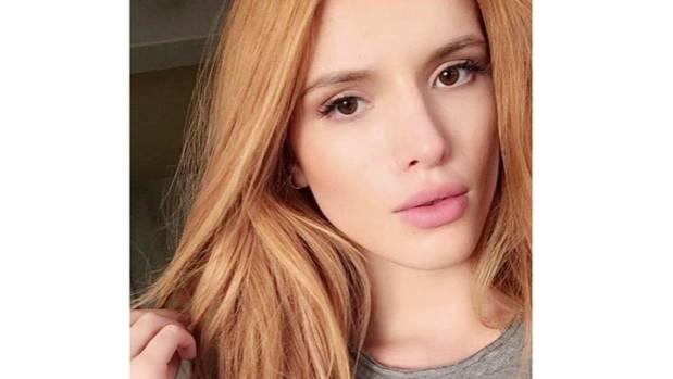 Bella Thorne seems stoked with her new brows.