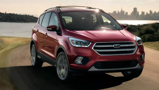 Compact Kuga Suv Will Get Edge Alike Styling And Sync  Technology For Nz In