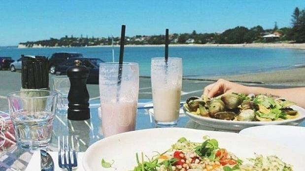Takapuna Beach Cafe offers tasty treats not just for people, but canines too.
