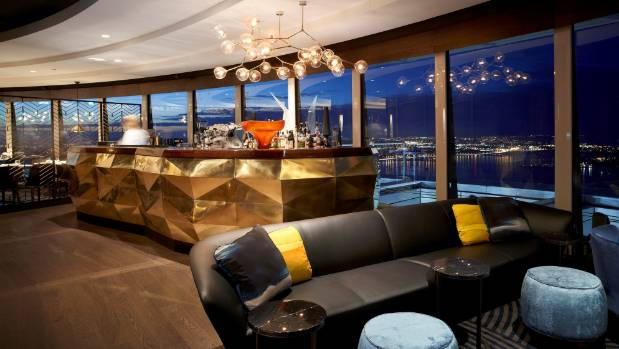 The Sugar Club lights up Auckland's night sky.