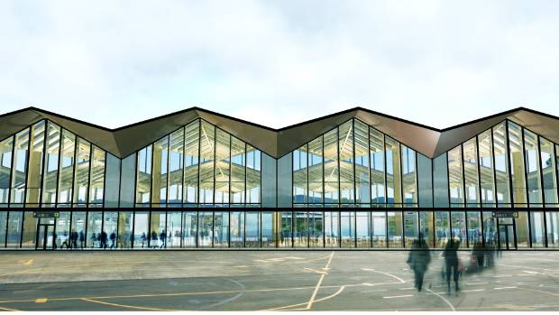 Revealed Nelsons New 32 Million Airport Terminal