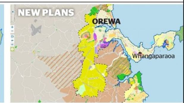 Huge urban growth with unitary plan stuff massive area of rural countryside at the back of orewa and silverdale set aside for future publicscrutiny Choice Image