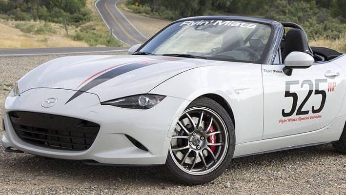 little mazda mx 5 gets v8 power. Black Bedroom Furniture Sets. Home Design Ideas