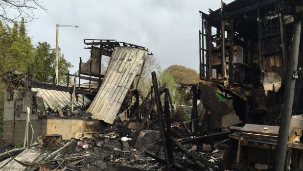 A fire that partly destroyed a Hawke's Bay arts and crafts hub in the historic Keirunga Gardens complex has been ...