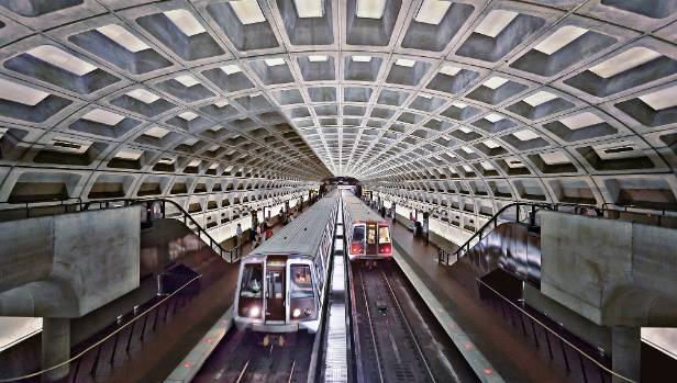 A transit police officer for the Washington DC metro system has been arrested.