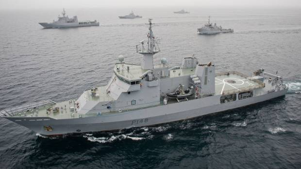 Gray will command the HMNZS Otago in the Pacific Islands over the next few months (file photo).