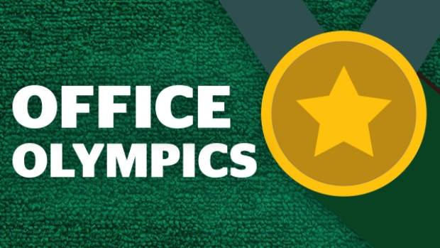 Can't make it to Rio? compete with your colleagues instead as part of Stuff's Office Olympics.