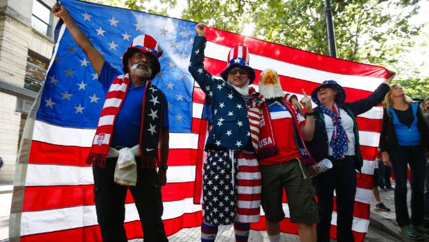 United States football fans during 2016 Copa America.