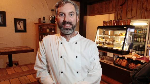Shepherd Elliott, Head Chef and co-Owner Ti Kouka Cafe. The restaurant was a finalist for Dine Wellington with a dish of ...