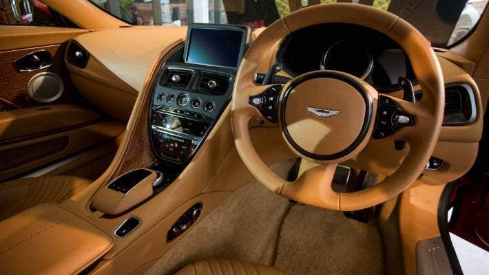 Stunning New Aston Martin Db11 Unveiled In Auckland Stuff Co Nz
