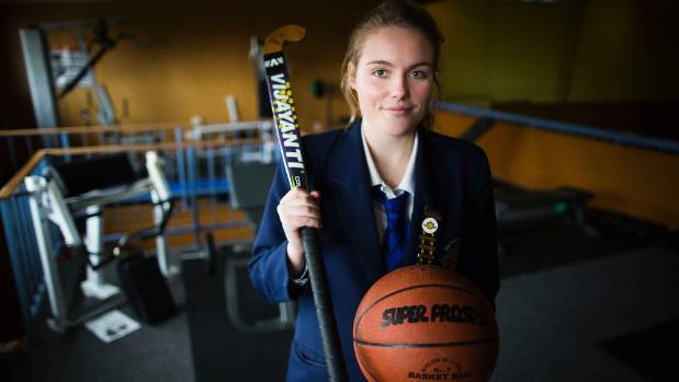 Robyn Poole, Dannevirke High School prefect and sport portfolio holder played netball, badminton, and is a New Zealand ...