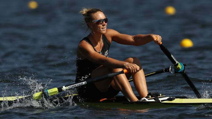 New Zealand rowers win opening heats in Rio amid rough conditions ...