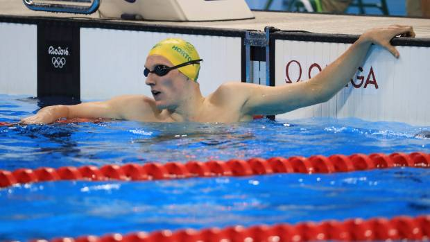 Australian Mack Horton qualified second-fastest for the 400m freestyle final on day one at Rio.