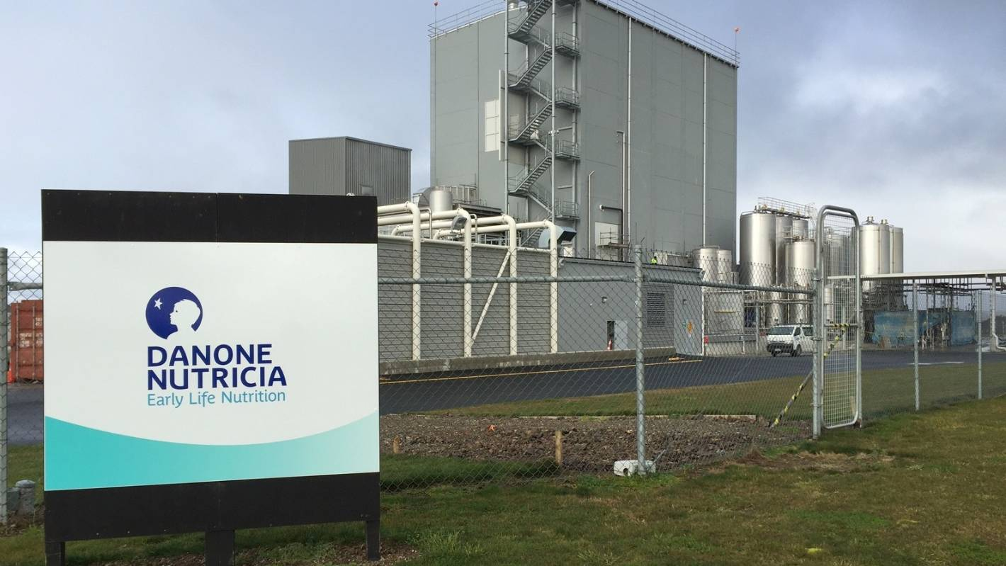 Clydevale's Danone Nutricia receives Made in New Zealand