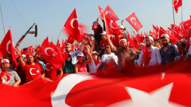 Even the Islamic State is seen by many pro-Erdogan Turks as a Western creation to defame Islam and create pretexts for ...