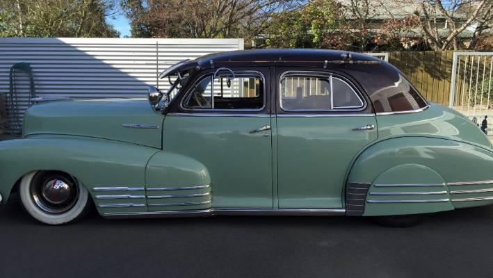 Beautiful 1948 Chevrolet Fleetliner Bomb Only One In New Zealand