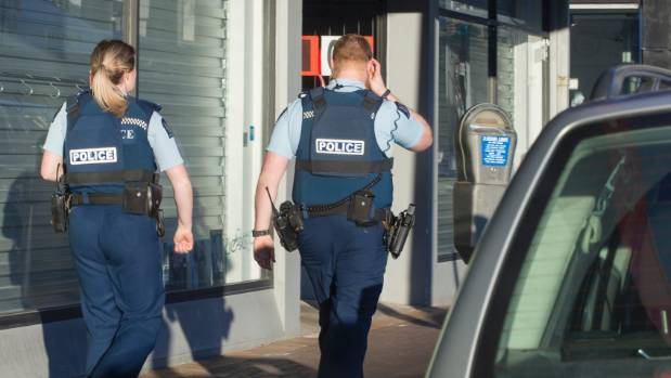 More police are needed on the street, say NZ First and Labour.