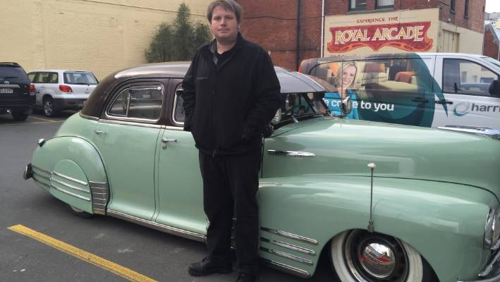 Beautiful 1948 Chevrolet Fleetliner 'Bomb' only one in New