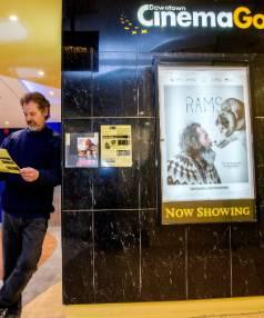 08082016  News   photo: WARWICK SMITH/FAIRFAX NZPalmerston North Film Society president Rik Howes outside Cinema Gold ...