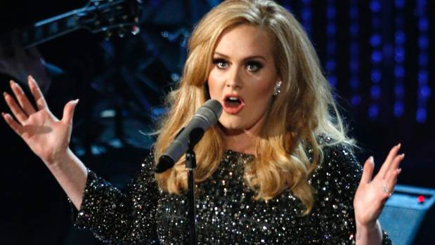 British singer Adele will perform three shows in Auckland next March.