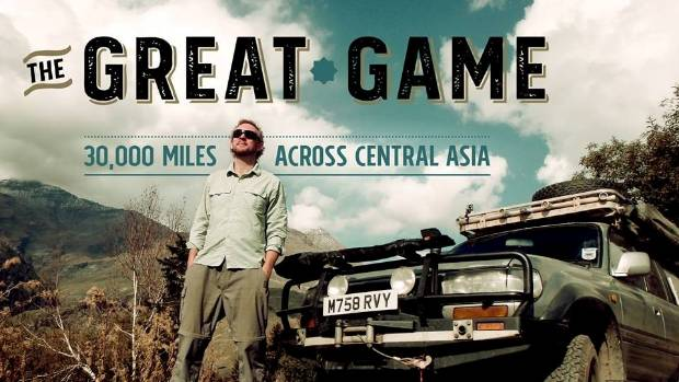 The Great Game will premiere at the Adventure Travel Film Festival in London.
