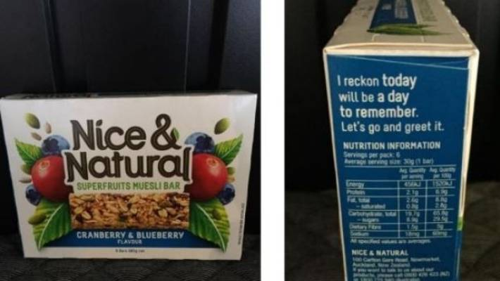 Almost Half Of Snack Food Products Labelled As 'natural