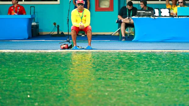 Rio Olympics 2016 Organisers Blame Drop In Alkalinity For Pool Discolouration