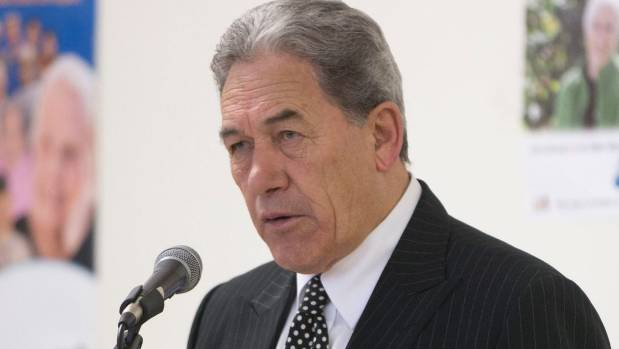 Winston Peters was vocal in his insistence the bill was mis-using parliament time.