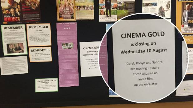 A post on Cinema Gold's official noticeboard confirmed the cinema was closing on Wednesday.