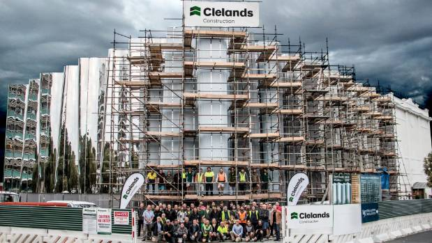Clelands Construction Is Celebrating 100 Years A Year After It Finished Building The Len Lye