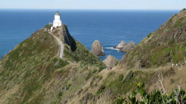 Nugget Point, Catlins, South Otago.