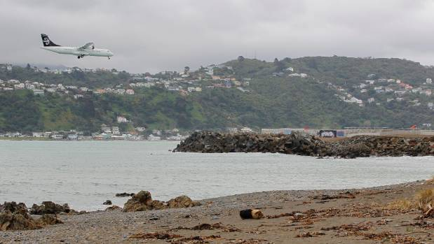 Wellington Airport is proposing to extend its runway south into Lyall Bay by 355 metres.
