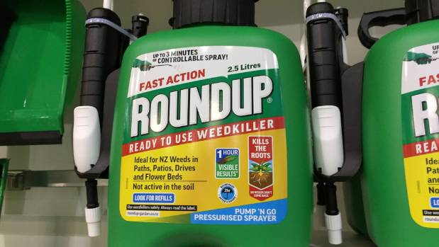 Glyphosate is the active ingredient in Monsanto's Roundup and has been used in New Zealand for 40 years.