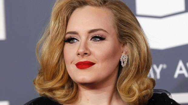 """Adele's son calls her a """"bloody bumhead""""."""