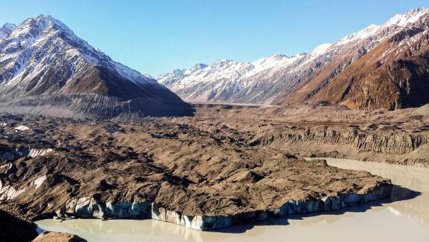 The Tasman Glacier is changing rapidly in response to warming seasons and less snow on the highest peaks of the Southern ...