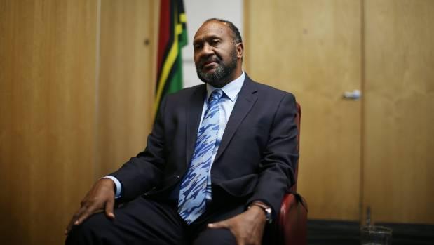 Vanuatu Prime Minister Charlot Salwai was in New Zealand this week.