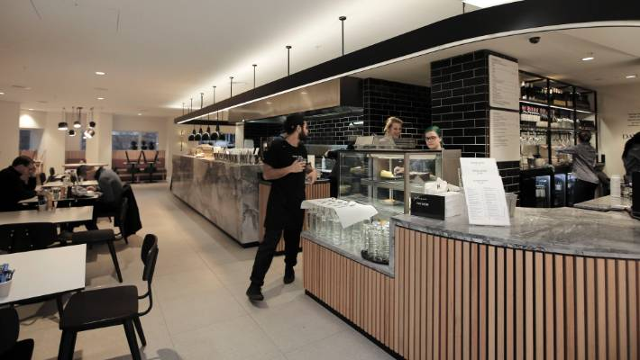 Restaurant Review David Jones Cafe Wellington Stuff Co Nz