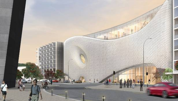 The design would sell Wellington in the same way as the Opera House does for Sydney, or the Guggenheim Museum for ...