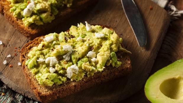 Avocado toast with salt, feta cheese, and baby boomer's tears.