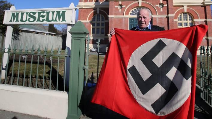 Display of Nazi flag in Temuka causes international