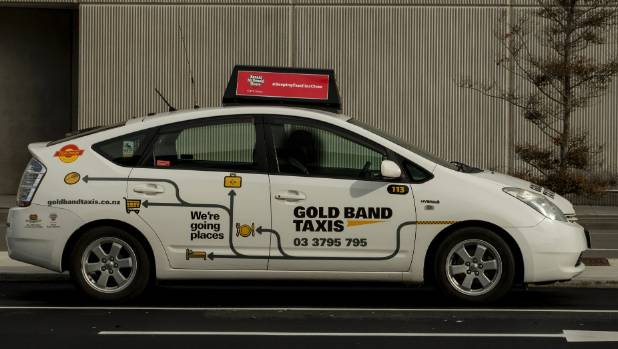 Drivers from Christchurch's Gold Band Taxis are suspected to be involved.
