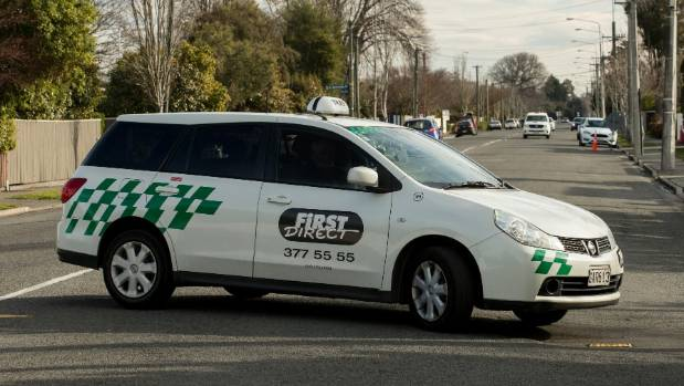 Drivers from Christchurch's First Direct taxi firm are suspected to be involved.